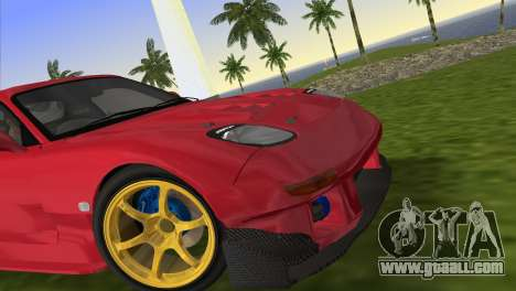 Mazda RX7 FD3S RE Amamiya Road Version for GTA Vice City back left view