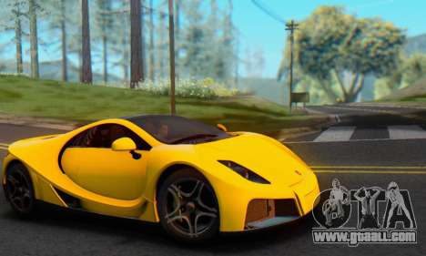 GTA Spano 2014 IVF for GTA San Andreas right view