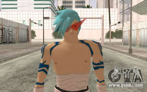 Kamina Sama for GTA San Andreas third screenshot