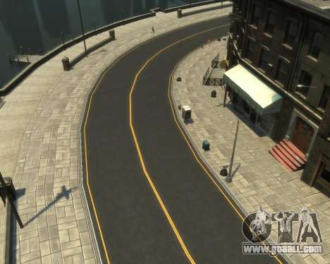New Roads  (Textures - HD) for GTA 4 fifth screenshot