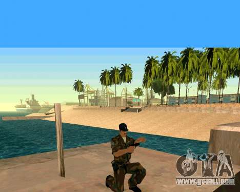 Glock из Cutscene for GTA San Andreas forth screenshot