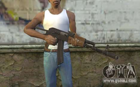 AK74 Rifle for GTA San Andreas third screenshot