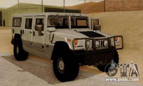 Hummer H1 Alpha for GTA San Andreas