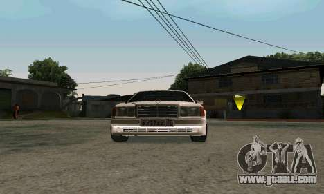 Mercedes-Benz W124 Coupe for GTA San Andreas left view