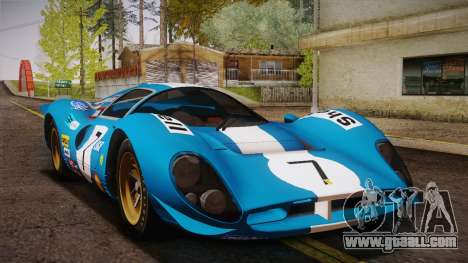 Ferrari 330 P4 1967 IVF for GTA San Andreas engine