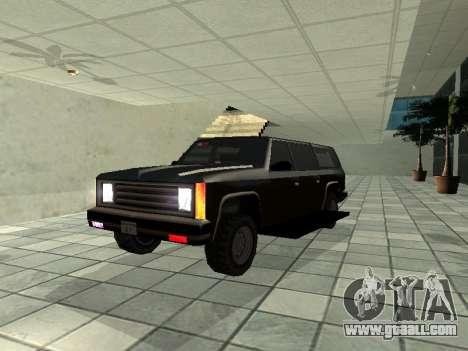 SWAT Original Cruiser for GTA San Andreas