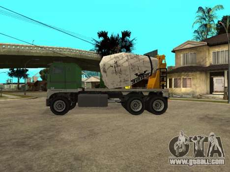Cement carrier of GTA 4 for GTA San Andreas left view