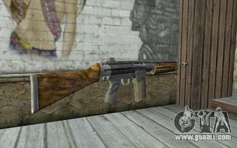 R91 Assault Rifle for GTA San Andreas second screenshot