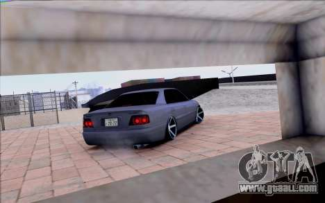 Toyota Chaser Tourer V for GTA San Andreas upper view