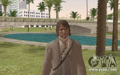 John Marston Gentleman Attire for GTA San Andreas third screenshot