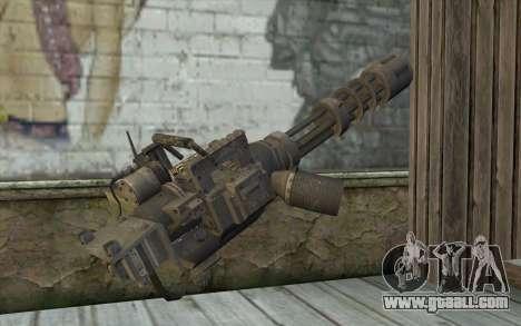New Minigun for GTA San Andreas second screenshot