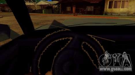 Rotating the wheel for standard cars for GTA San Andreas third screenshot