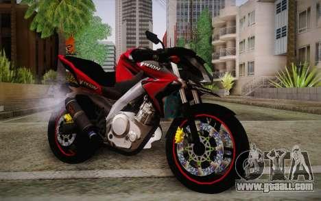 Yamaha V-Ixion 2014 for GTA San Andreas