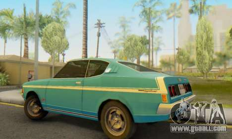Mitsubishi Galant GTO-MR for GTA San Andreas back view