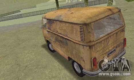 Volkswagen T2 Super Rust for GTA Vice City left view