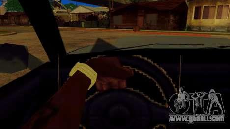 Rotating the wheel for standard cars for GTA San Andreas forth screenshot