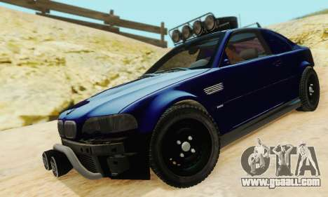 BMW M3 E46 Offroad Version for GTA San Andreas side view