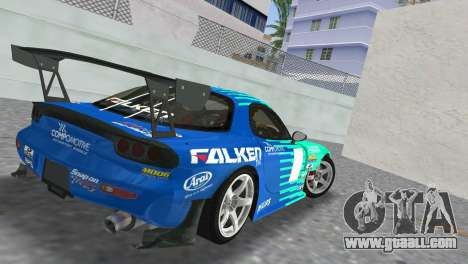 Mazda RX7 FD3S RE Amamiya Falken for GTA Vice City left view