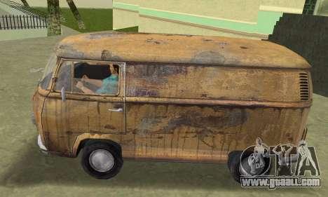 Volkswagen T2 Super Rust for GTA Vice City back left view
