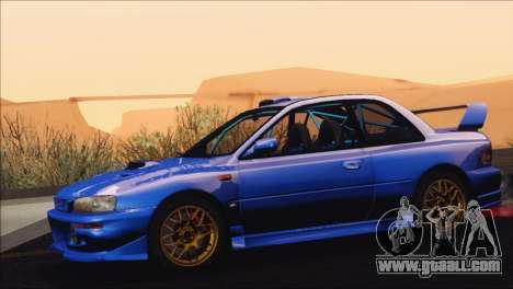 Subaru Impreza 22B STi 1998 for GTA San Andreas right view