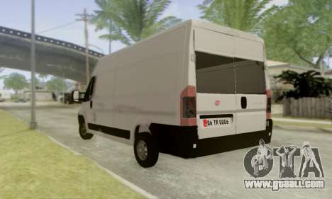 Fiat Ducato Ekip Otosu for GTA San Andreas left view