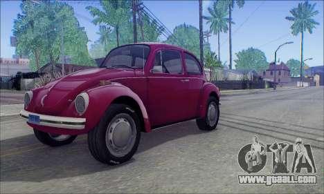 1973 Volkswagen Beetle for GTA San Andreas