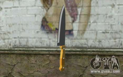 Kitchen knife for GTA San Andreas
