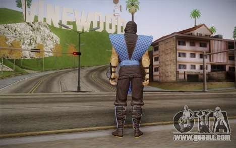 Classic Sub Zero из MK9 DLC for GTA San Andreas second screenshot