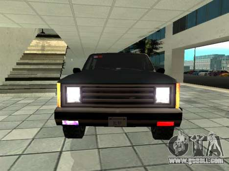 SWAT Original Cruiser for GTA San Andreas back view