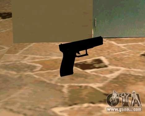 Glock из Cutscene for GTA San Andreas