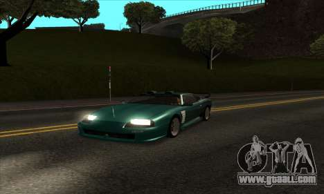 ENB mod to very weak PC for GTA San Andreas second screenshot