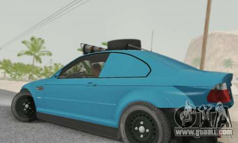 BMW M3 E46 Offroad Version for GTA San Andreas left view