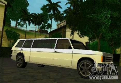Huntley Limousine for GTA San Andreas right view