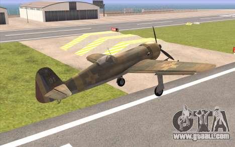 IAR 80 - Romania No 91 for GTA San Andreas left view