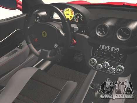 Ferrari 599 GTO for GTA San Andreas side view