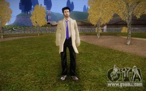 Castiel from Supernatural for GTA San Andreas