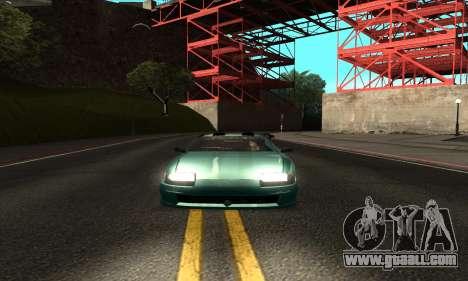 ENB mod to very weak PC for GTA San Andreas third screenshot