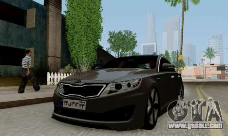 Kia Optima Stock for GTA San Andreas