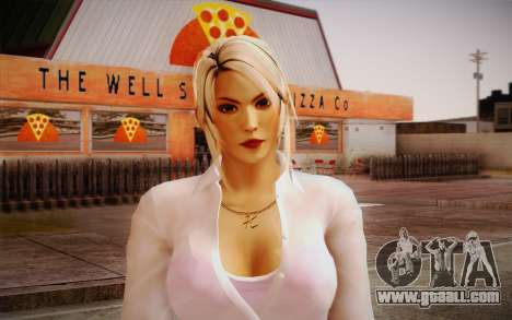 Sarah from DoA for GTA San Andreas third screenshot