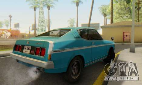 Mitsubishi Galant GTO-MR for GTA San Andreas right view