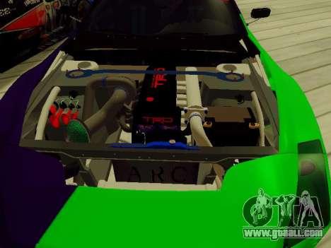 Toyota Supra Evil Empire for GTA San Andreas side view