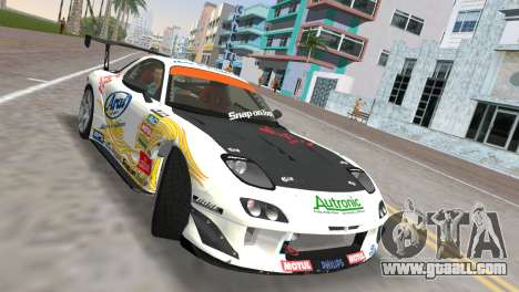 Mazda RX7 FD3S RE Amamiya Arial for GTA Vice City right view