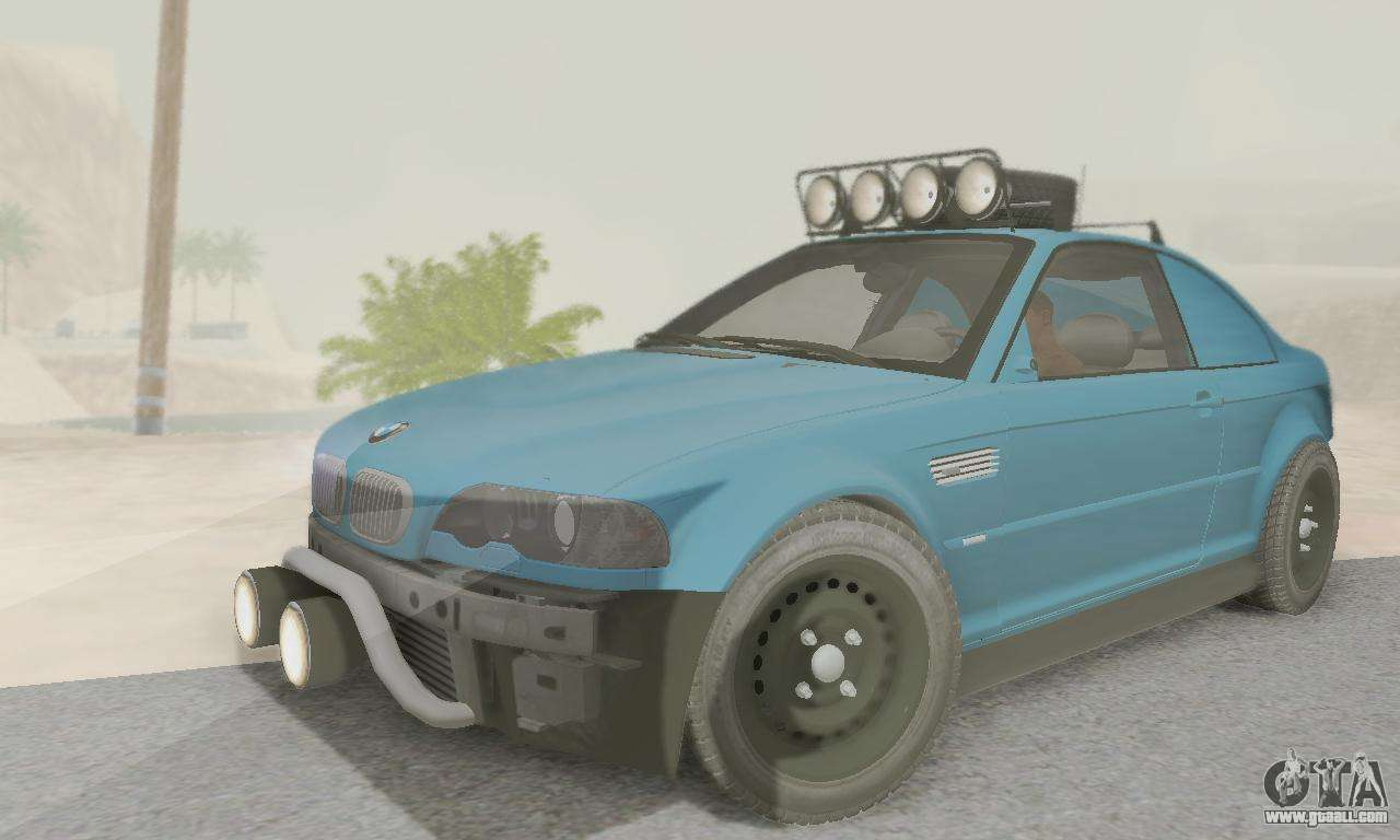 bmw m3 e46 offroad version for gta san andreas. Black Bedroom Furniture Sets. Home Design Ideas
