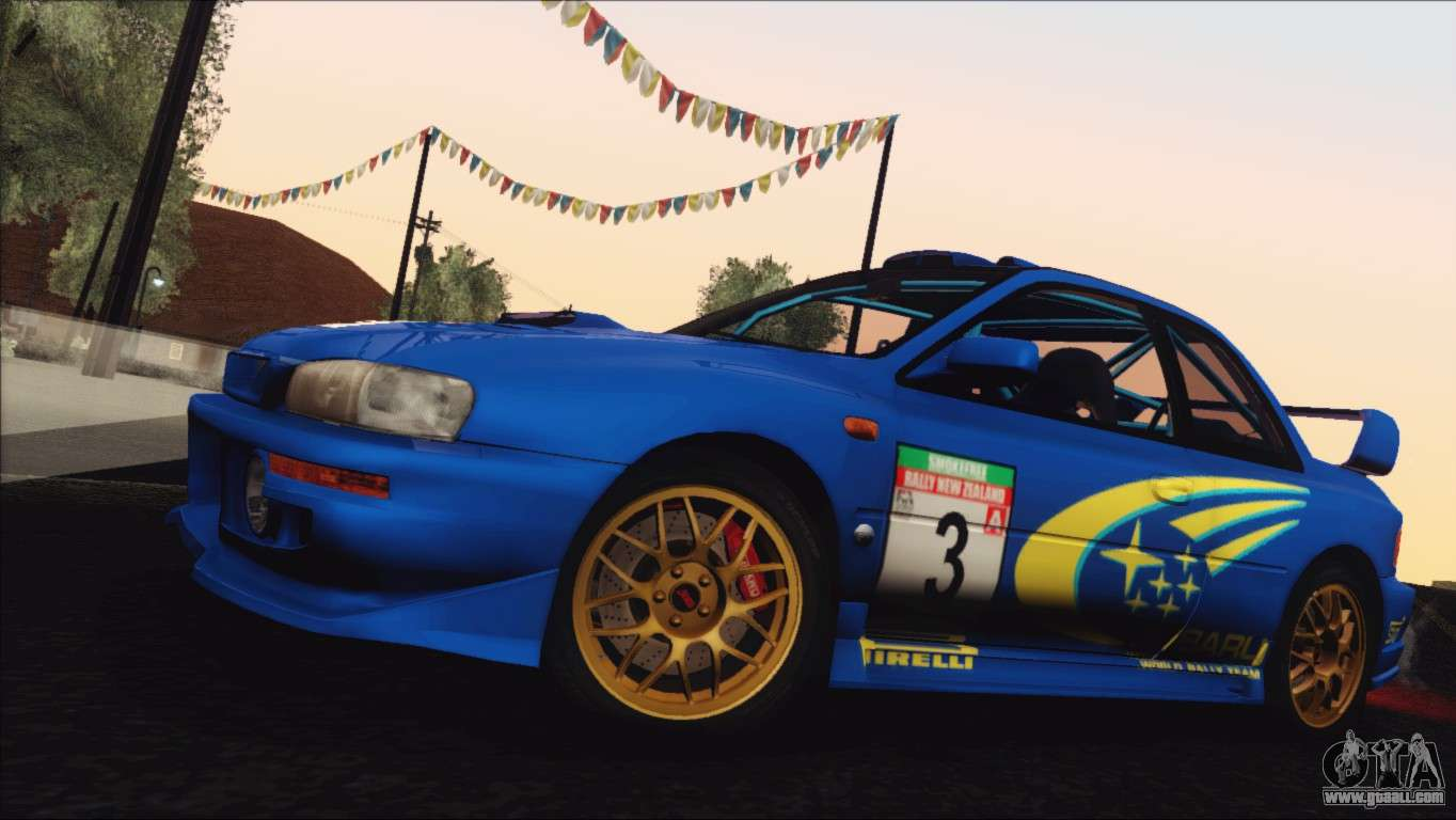 Gta Sa on Subaru Impreza 22b Sti 1998 For Gta San Andreas