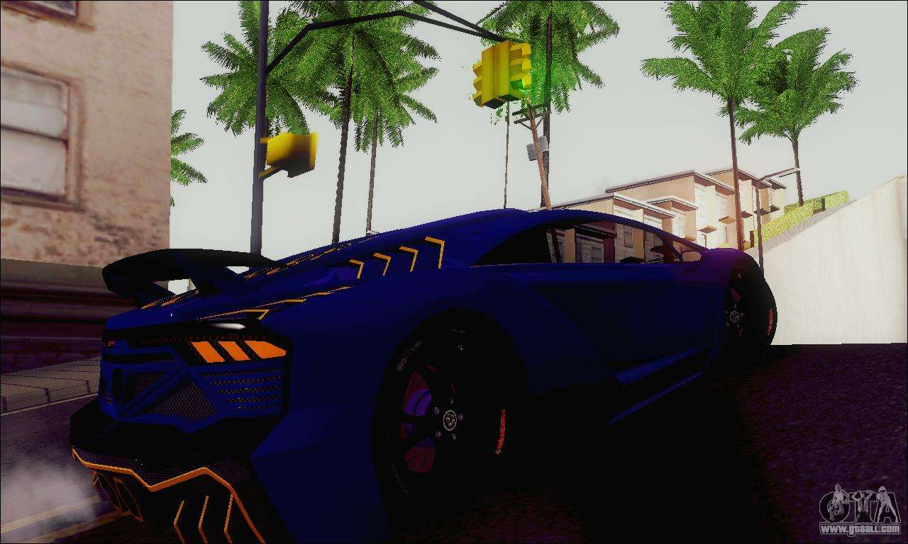 Zentorno GTA 5 V.1 for GTA San Andreas