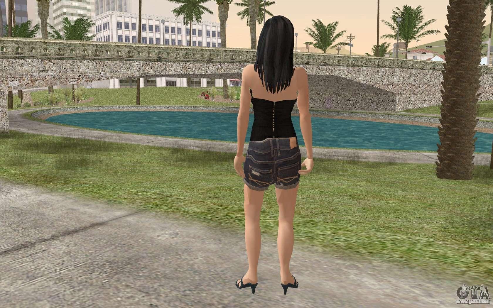 Casual Girl For Gta San Andreas-6522