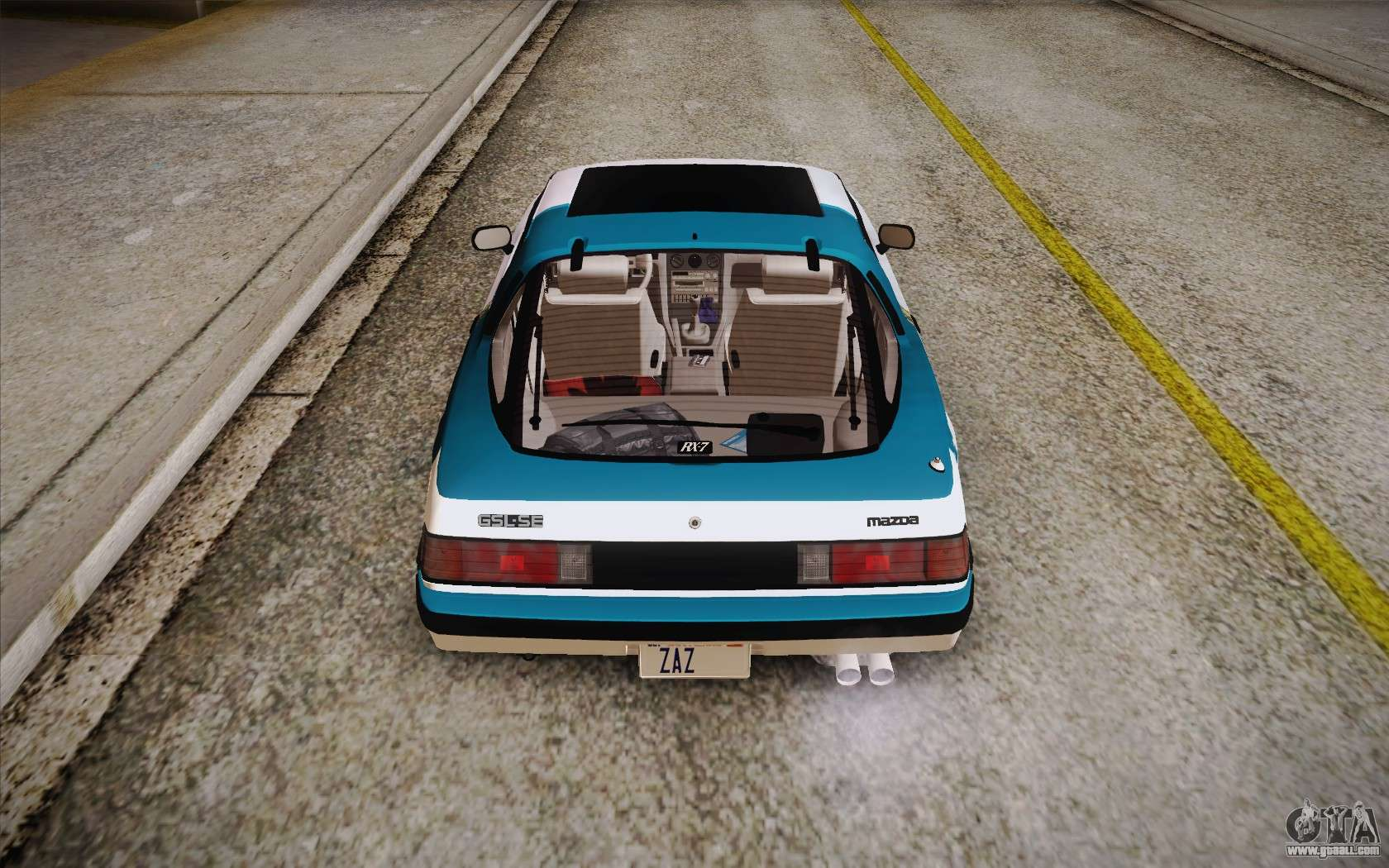 mazda rx7 1985 custom. mazda rx7 gslse 1985 hqlm for gta san andreas engine rx7 custom