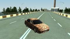 VAZ 2110 camouflage for GTA San Andreas