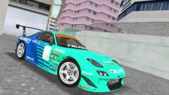 Mazda RX7 FD3S RE Amamiya Falken for GTA Vice City