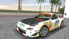 Mazda RX7 FD3S RE Amamiya Arial for GTA Vice City